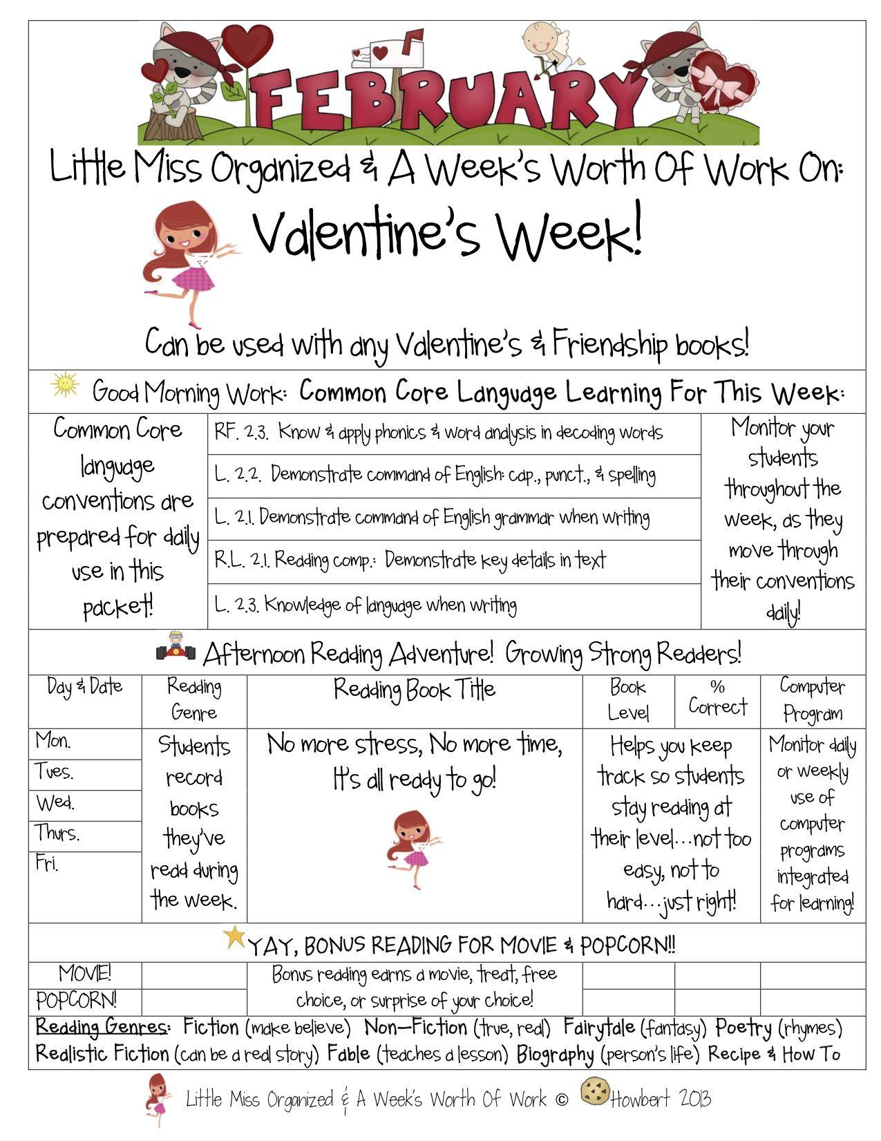 A Week S Worth Of Work On Valentine S Day