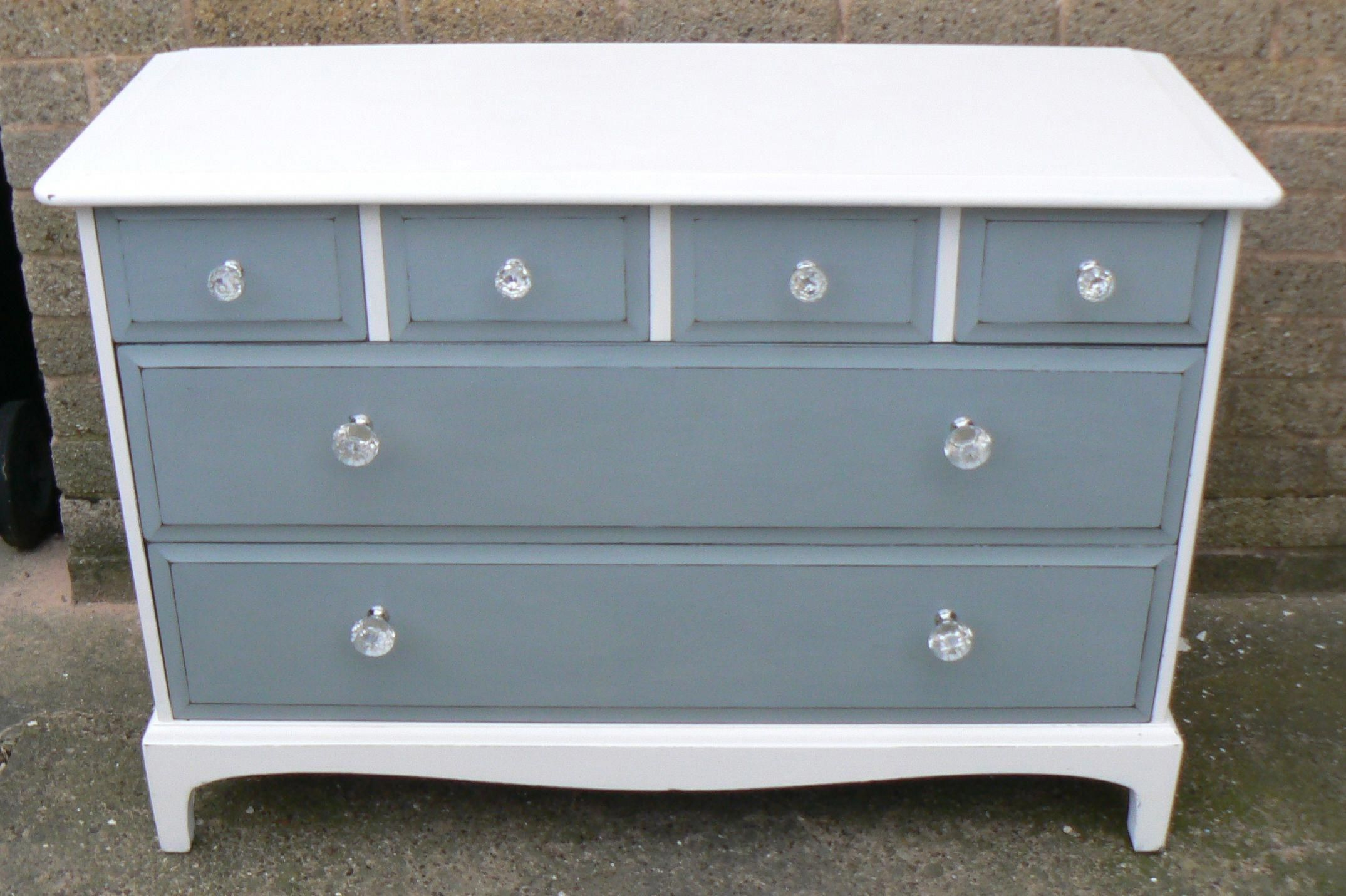 Classic Stag Drawers Painted In Autentico Paint The Body Has Been Painted In Autentico Ice Cream Classic Bathroom Furniture Bathroom Furniture Stag Furniture