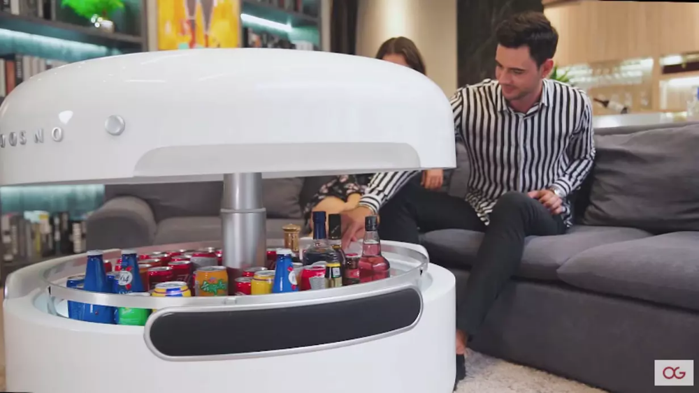 """Smart"" coffee table packs in the techy features Coffee"