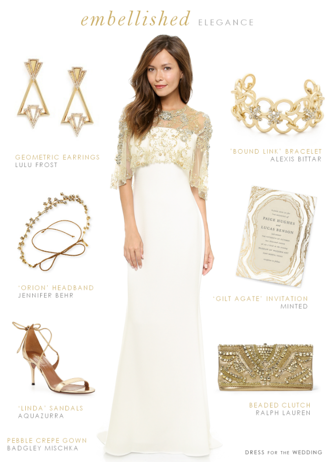 Wedding Dress With Gold Accessories Wedding Dresses Gold Wedding Dress Dresses