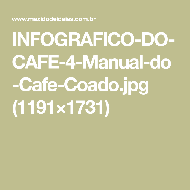 INFOGRAFICO-DO-CAFE-4-Manual-do-Cafe-Coado.jpg (1191×1731)