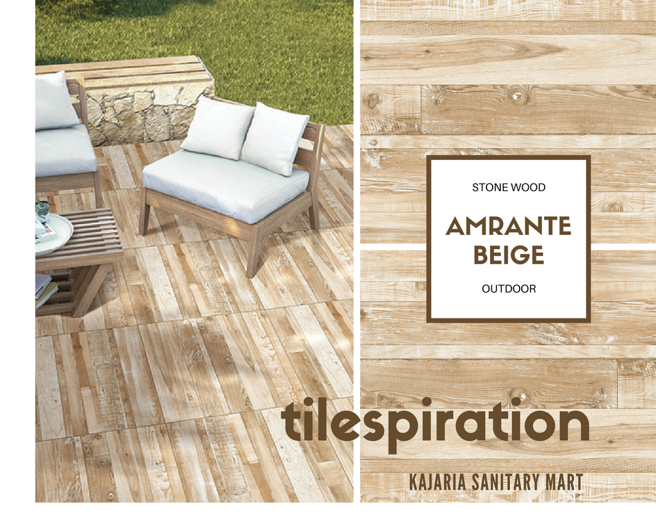 Design Inspiration Wood Look Tiles Perfect For Balconies Decks Patios Kitchen Floors And So Much More The Wood Look Tile Outdoor Furniture Sets Patios