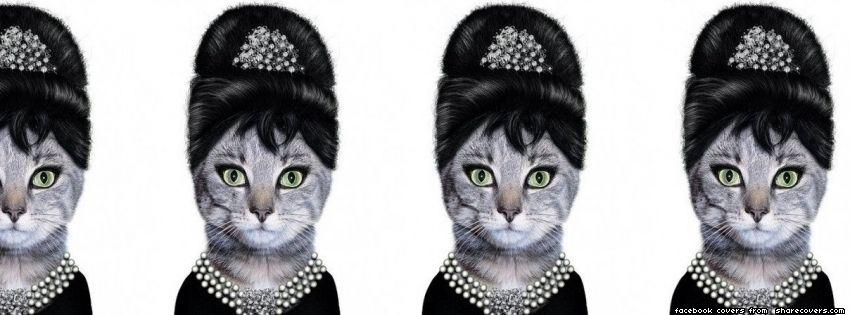 Audrey Hepburn Quote Facebook cover Facebook cover