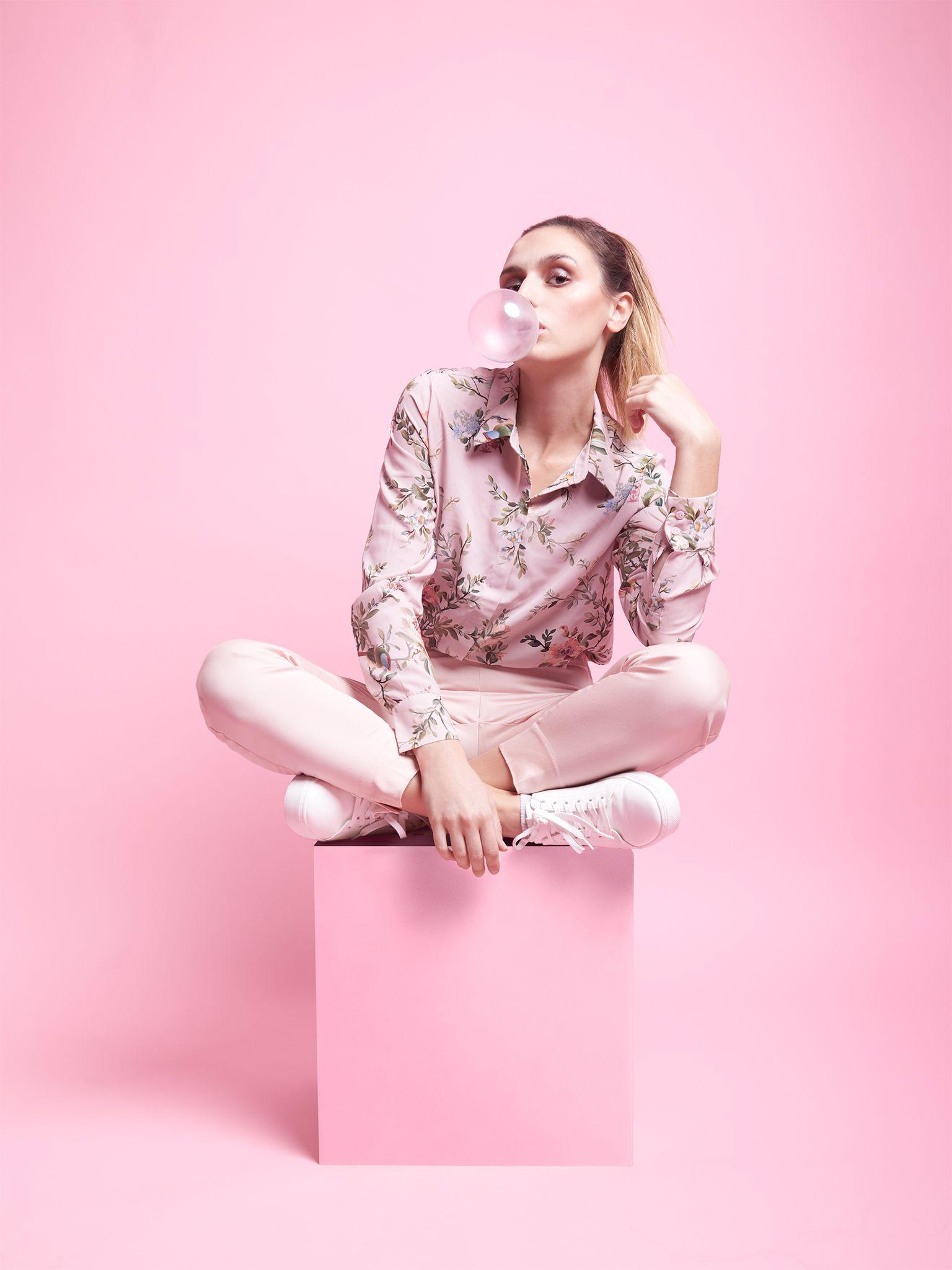 -Pink Monochrome- Fashion Photography | Monochrome Vibes ...