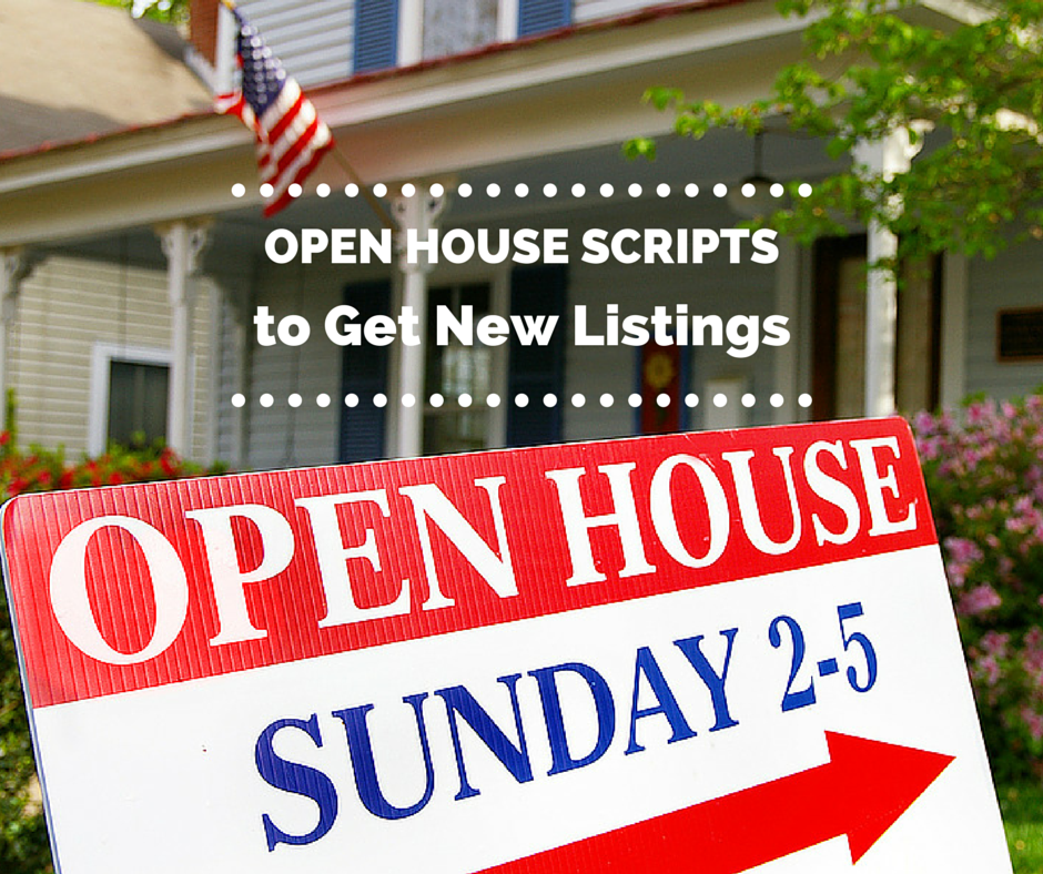 Open House Scripts to Get New Listings   Real Estate   Real estate