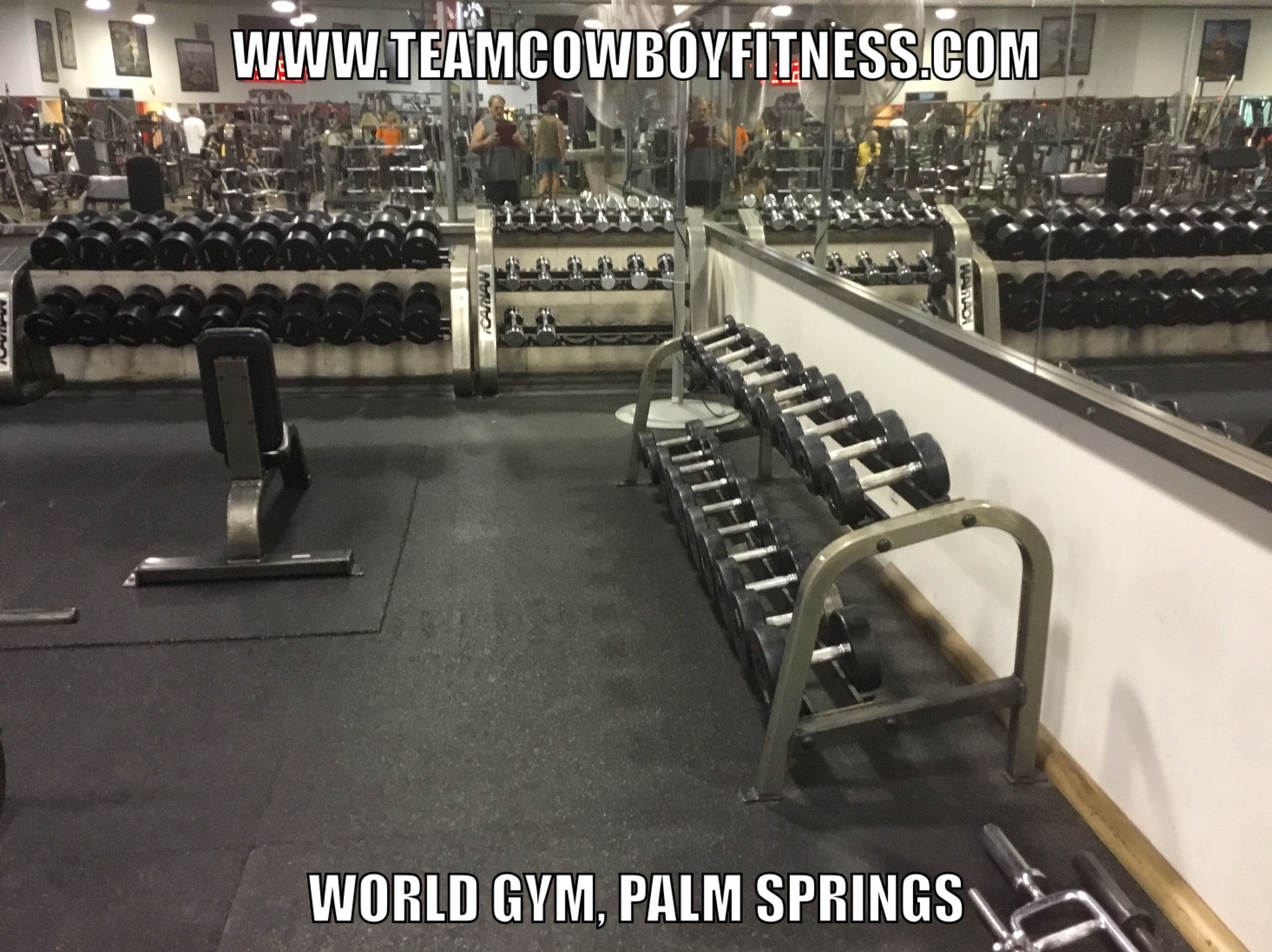 Pin By David On Team Cowboy Fitness Palm Springs Gym World