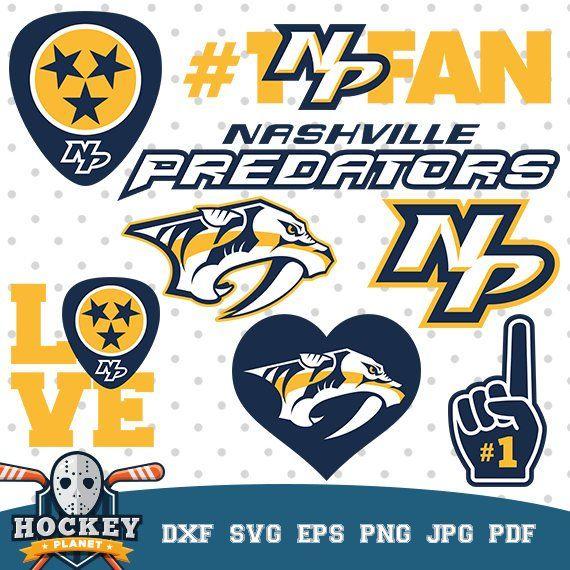 best service 3f803 ac2bf Nashville Predators Hockey Team, Hockey logos, hockey game ...