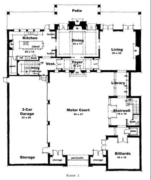 Plano mansion castillo 1 a pinterest house for Scottish highland castle house plans