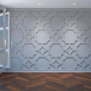 Ekena Millwork 3 8 In X 42 3 8 In X 23 3 8 In Large Anderson White Architectural Grade Pvc Decorative Wall Panels Walp24x24and The Home Depot Decorative Wall Panels Millwork Wall Pvc Wall Panels