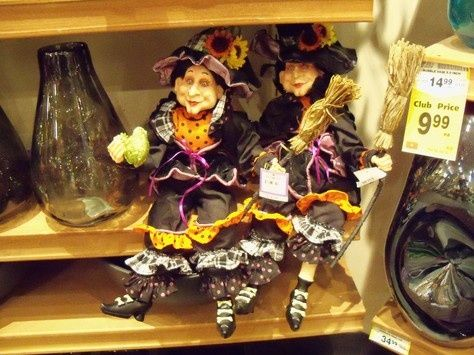 Safeway Halloween Decorations.Little Witches From Safeway They Have A New Bunch Every Year I Limit Myself To One A Year But They Re All Adorab Halloween Fun Halloween Decorations Witch
