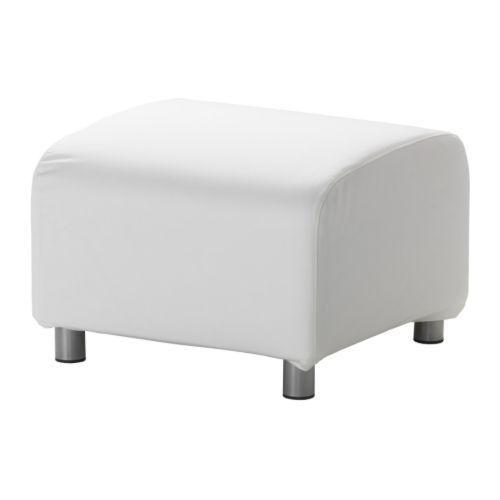 KLIPPAN Puf IKEA La funda es fácil de limpiar, ya que se puede ...