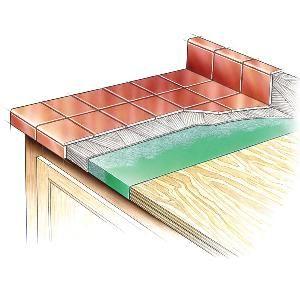Tile On Laminate A Good Idea Tile Countertops Diy Countertops