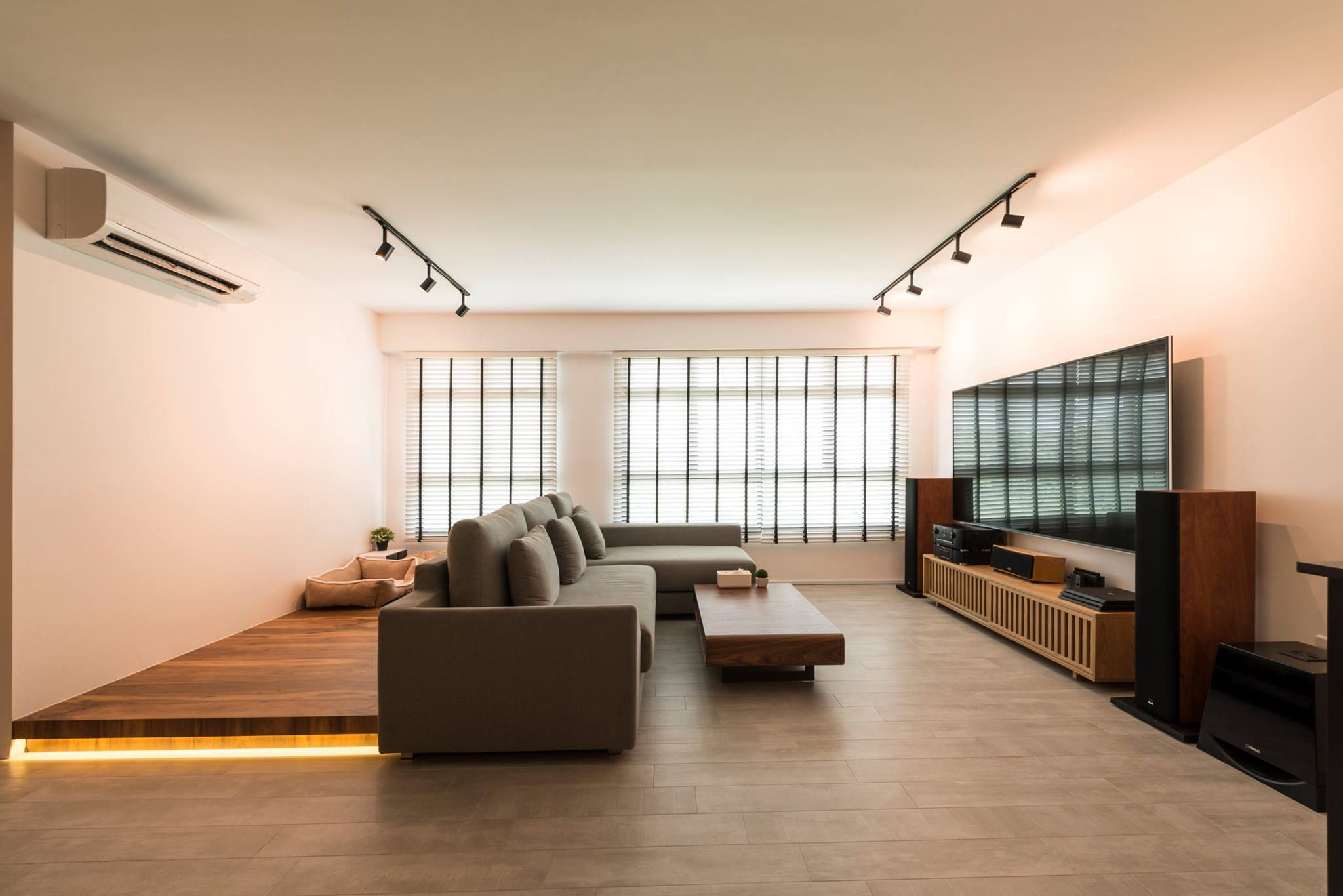 Living Area Interior Design Presents A More Modern Minimalist Outlook