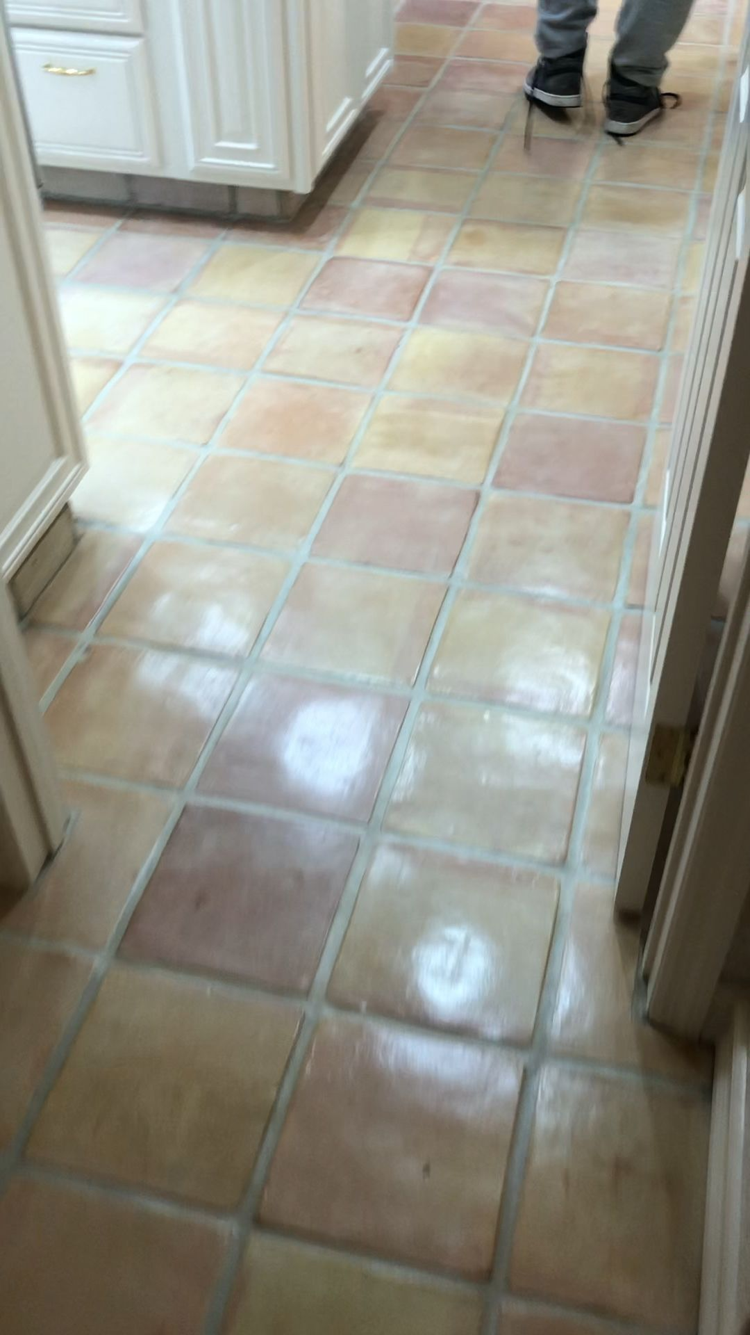 Newly Restored Whitewash Stained Saltillo Terracotta Tiles Video Tile Stained Terracotta Tiles Saltillo Tile