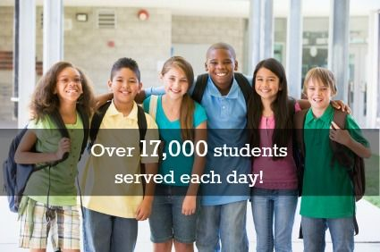 Yes, it's true! As the School Cleaning Specialists™ we serve over 17,000 students on a daily basis! #scarletandgray #cleaning #cleaningservices