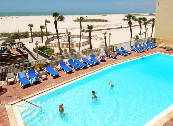 Bilmar Beach Resort Treasure Island Hoteltreasure Floridasuper