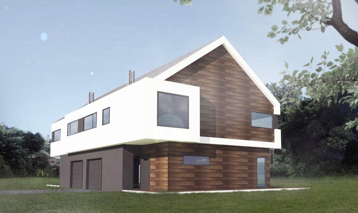Gotowe Projekty Domów Piętrowych Houses Pinterest House And