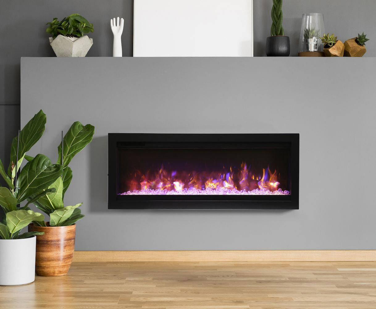 Obtain rerouted right here Exterior House Remodel | Built in electric  fireplace, Wall mount electric fireplace, Electric fireplace