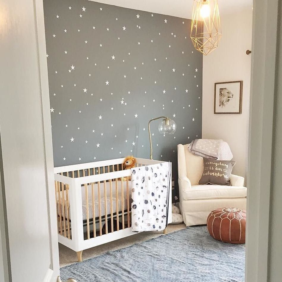 Our Little Baby Boy S Neutral Room: When Designing The Perfect Nursery, Reach For The Stars