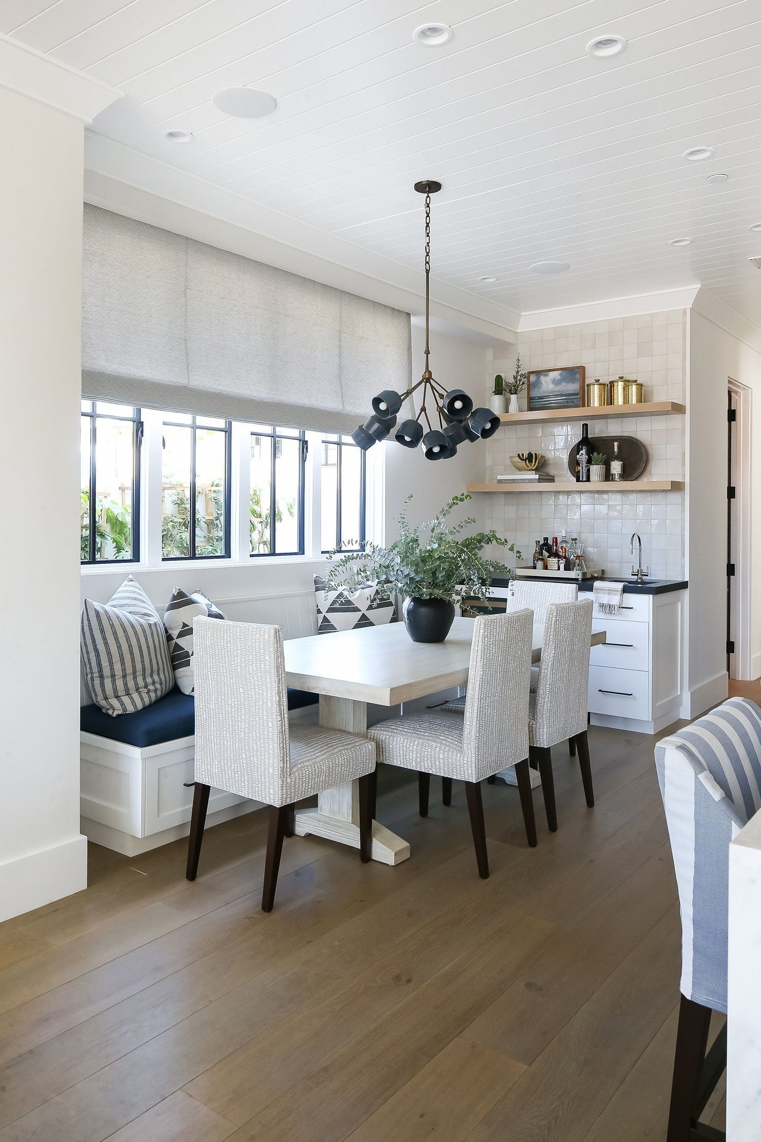An inviting beach house with soothing living spaces in Newport Beach