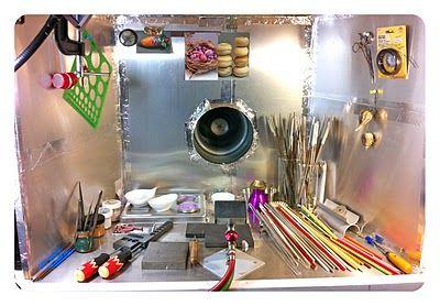 Ventilation Lampwork Glass House Studio Setup Home