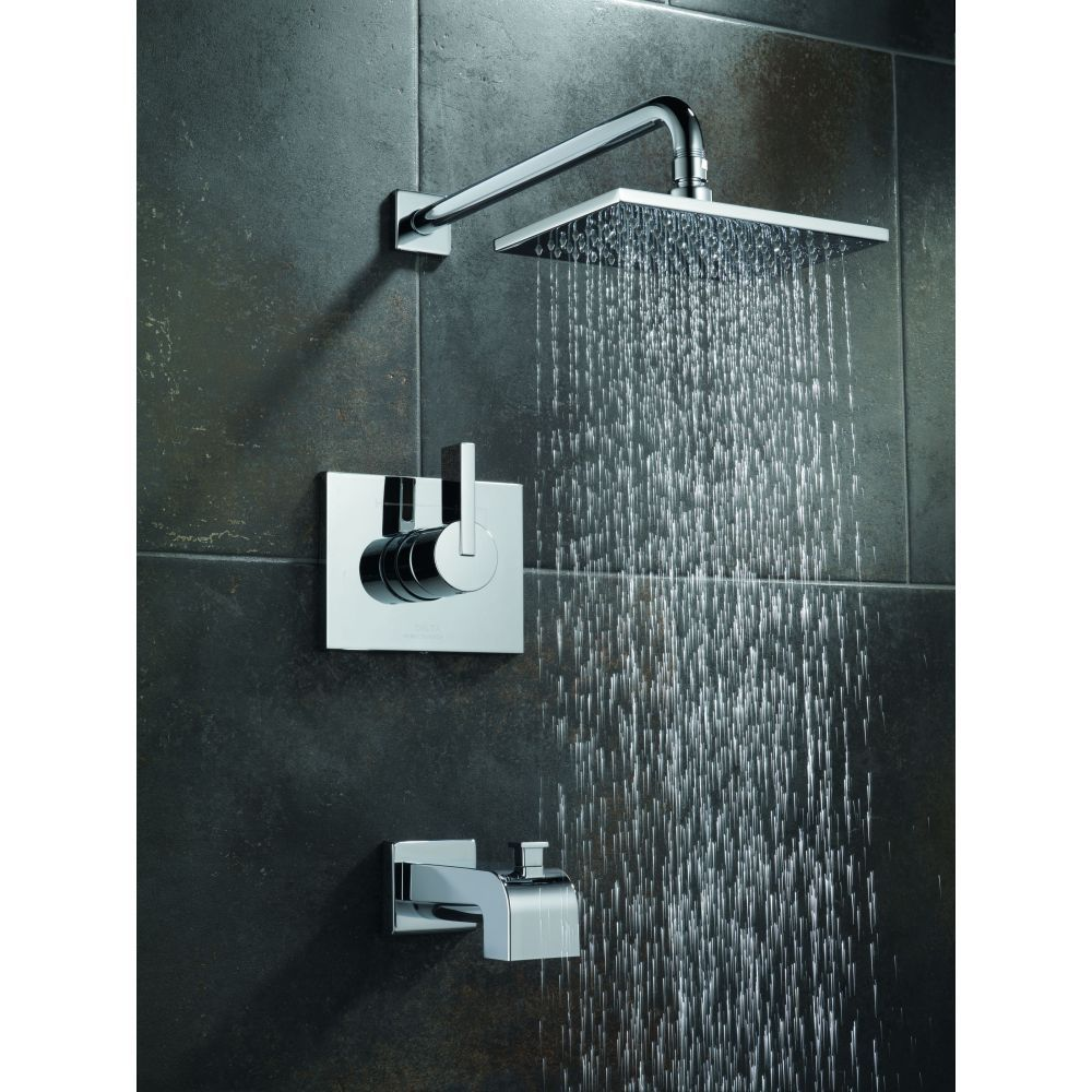Delta Faucet T14453 Vero Polished Chrome One Handle Tub Shower