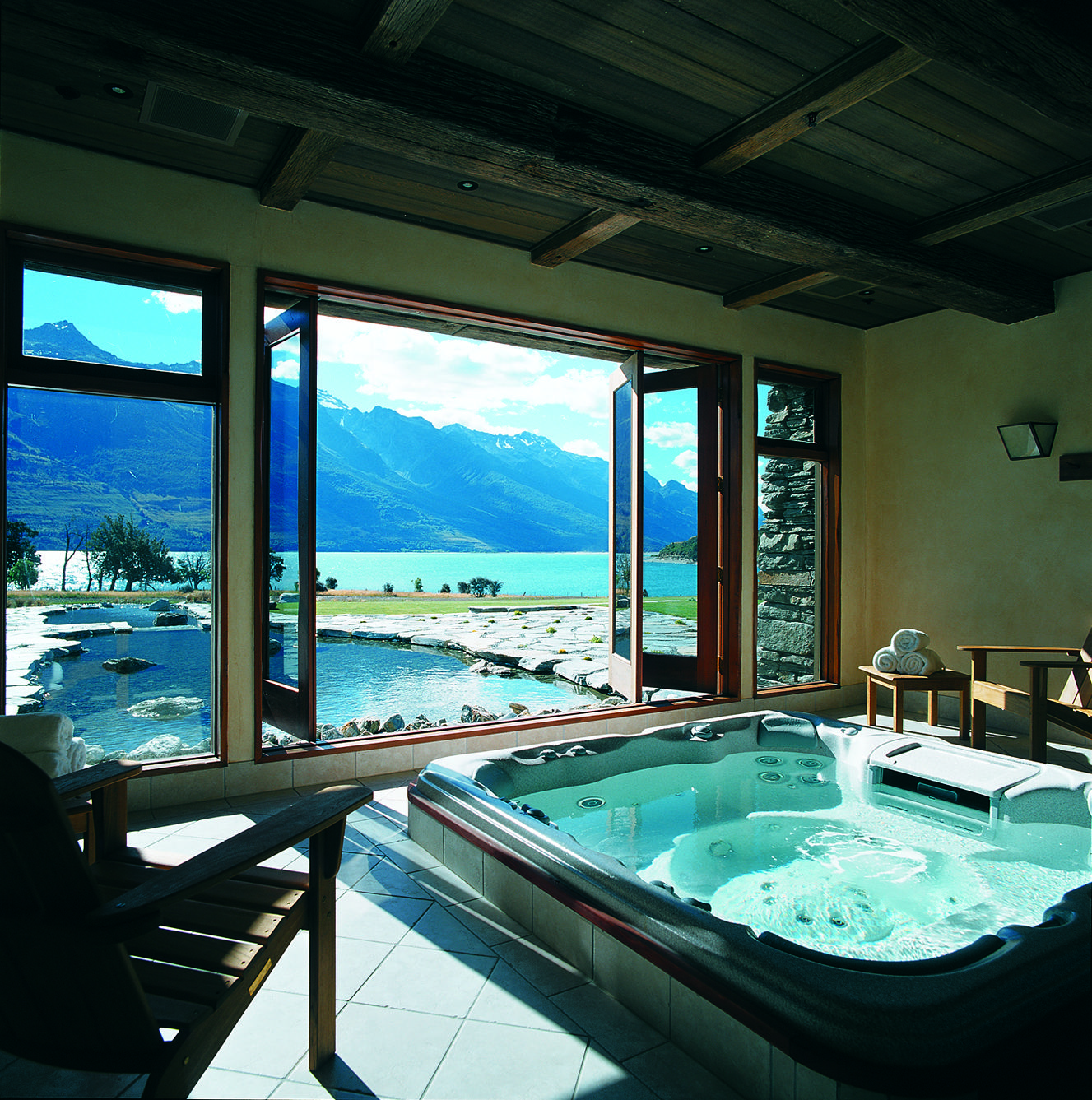 Blanket Bay Lodge Glenorchy New Zealand With Images My Dream