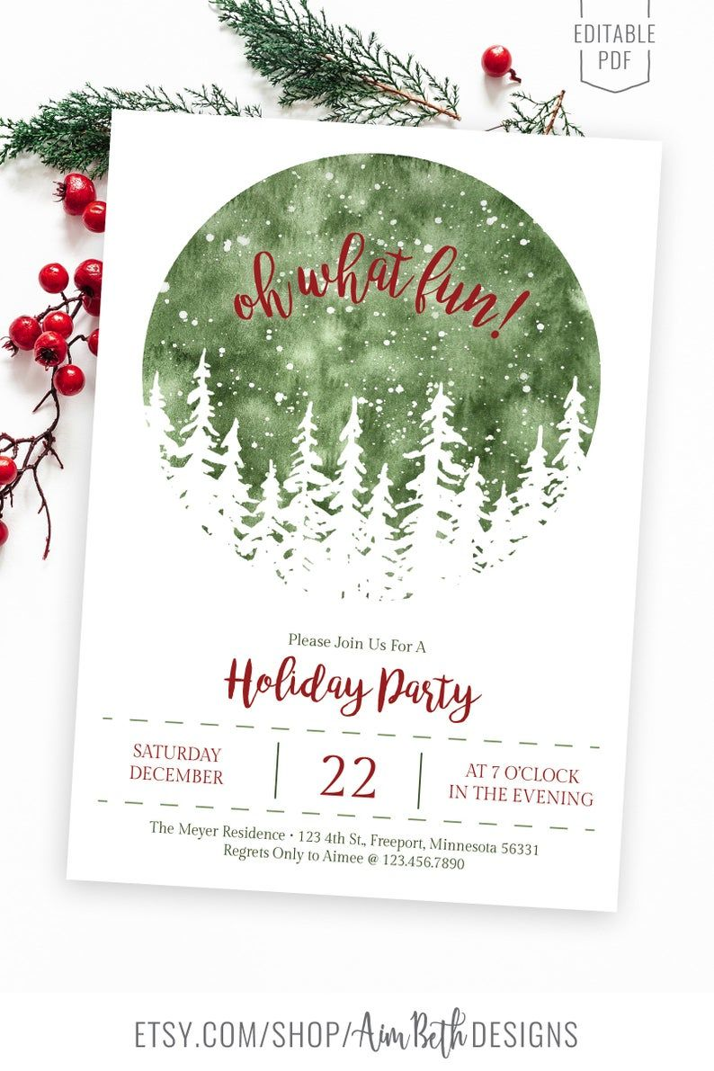 Official White House Christmas Party Invitation 2021 Oh What Fun Holiday Party Invitation Template Christmas Party Etsy In 2021 Christmas Invitations Template Christmas Invitation Card Holiday Party Invitation Template