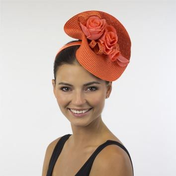 Orange Fascinator Google Search