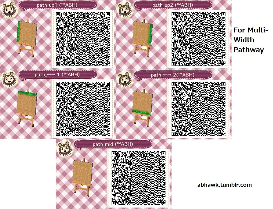 Acnl qr codes stone paths google search acnl qr codes for Animal crossing boden qr