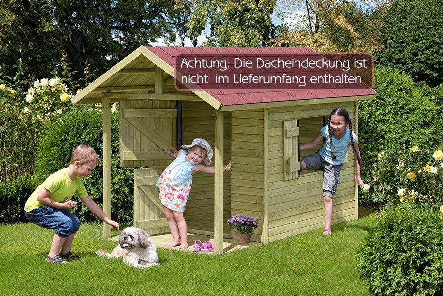 Kinderspielhaus HolzSpielhaus GartenKinderhaus Louis