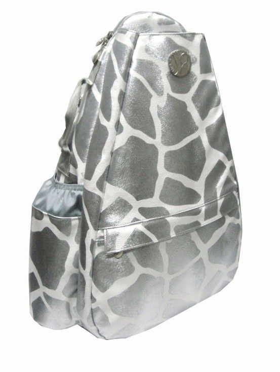 Slamglam Life Is Tennis Jetpac Sterling Giraffe Small Sling Bag We Love This Silver Pattern Bags Have