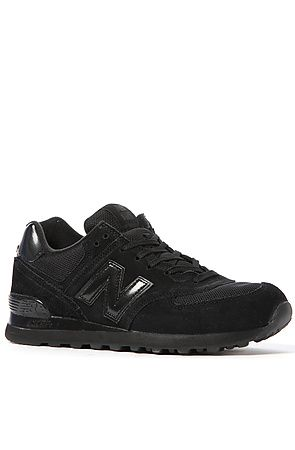 quality design 140c0 6fd2b The Classic 574 Sneaker in All Black by New Balance | I got ...