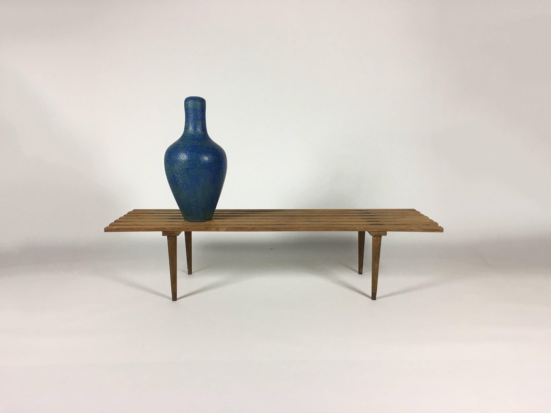 Wooden Bench, Modern Coffee Table, Walnut Coffee Table ...