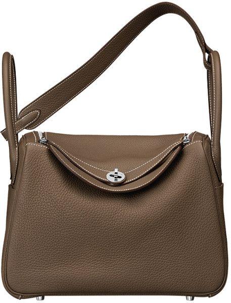 800a83970488 Hermes Lindy bag in Brown
