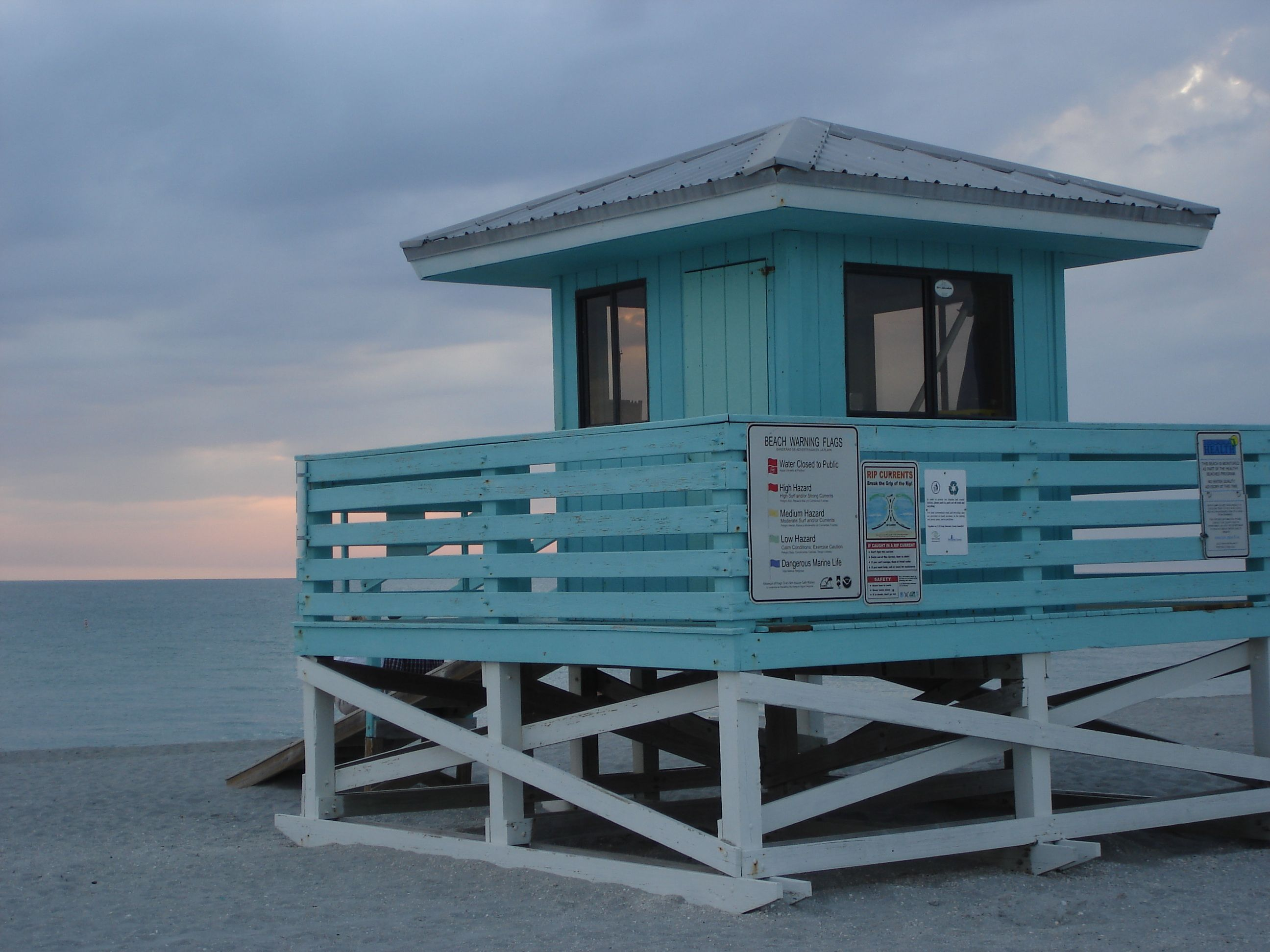 Venice life guard stand