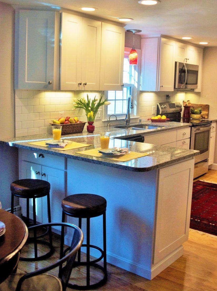 Related image | Peninsula kitchen design, Diy kitchen ...