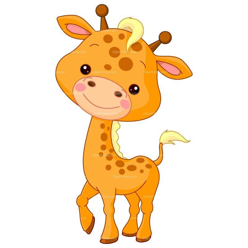 Clipart Giraffe Royalty Free Vector Design Giraffe Pictures Cartoon Baby Animals Baby Giraffe Pictures