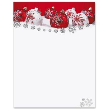 Christmas Letter Paper Christmas Template For Word Christmas Paper