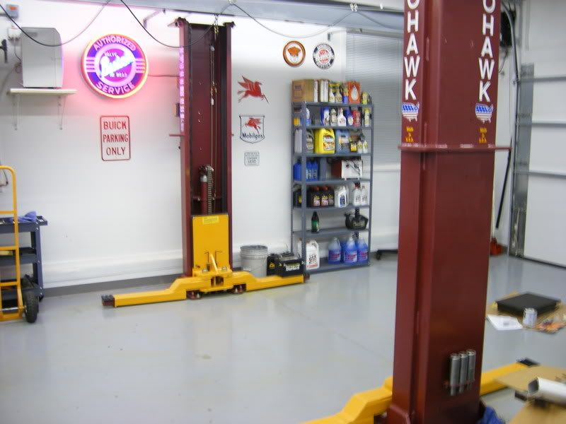 Twopost lift compilation and comparison… The Garage