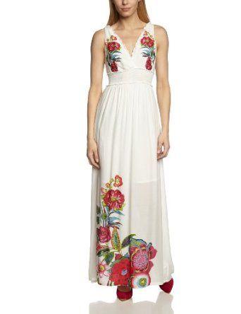 Desigual - Robe - Tulipe - À fleurs - Sans manche Femme