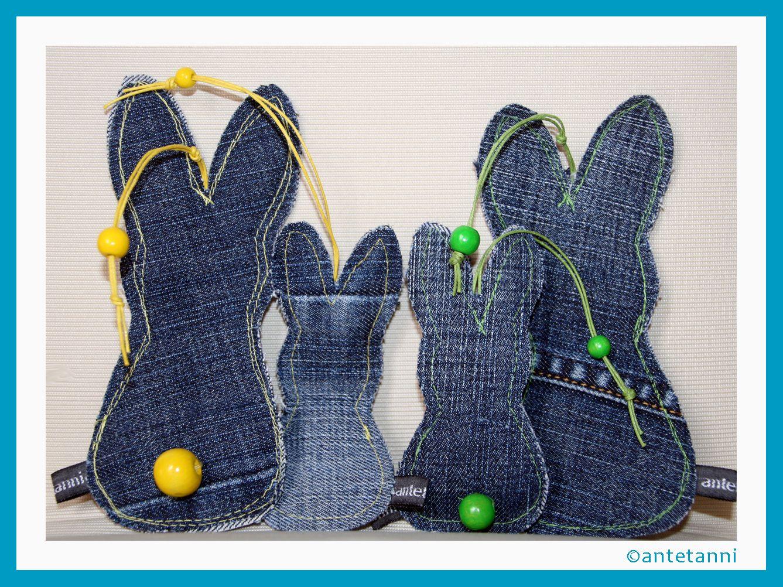 Photo of Hasen Anhänger Jeans | antetanni näht