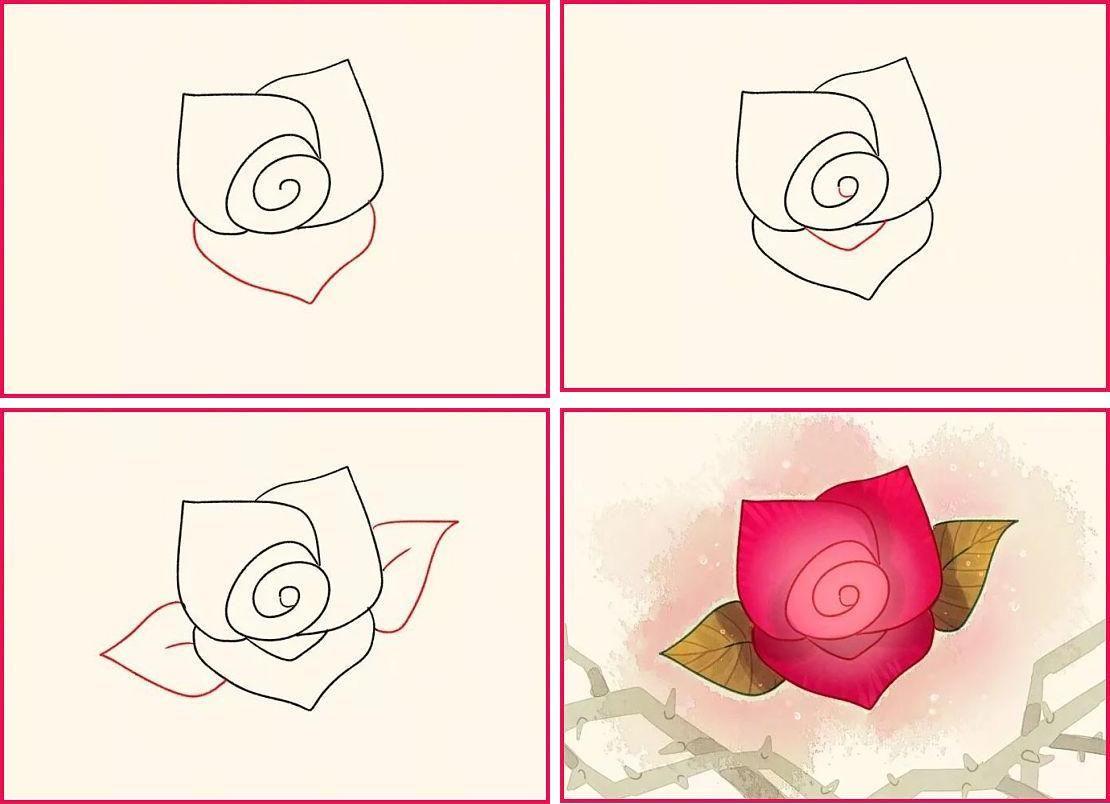Dibujos a lapiz faciles paso a paso the - Como hacer cosas de papel paso a paso faciles ...