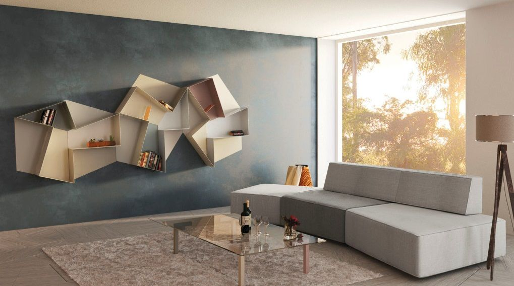 Cool Shelf Ideas image result for creative geometric shelving | everything else