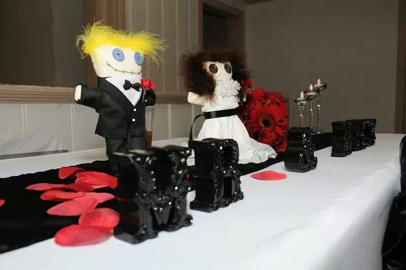 Wedding dolls....custom made for a very special friend (& Ugg Lee elf)