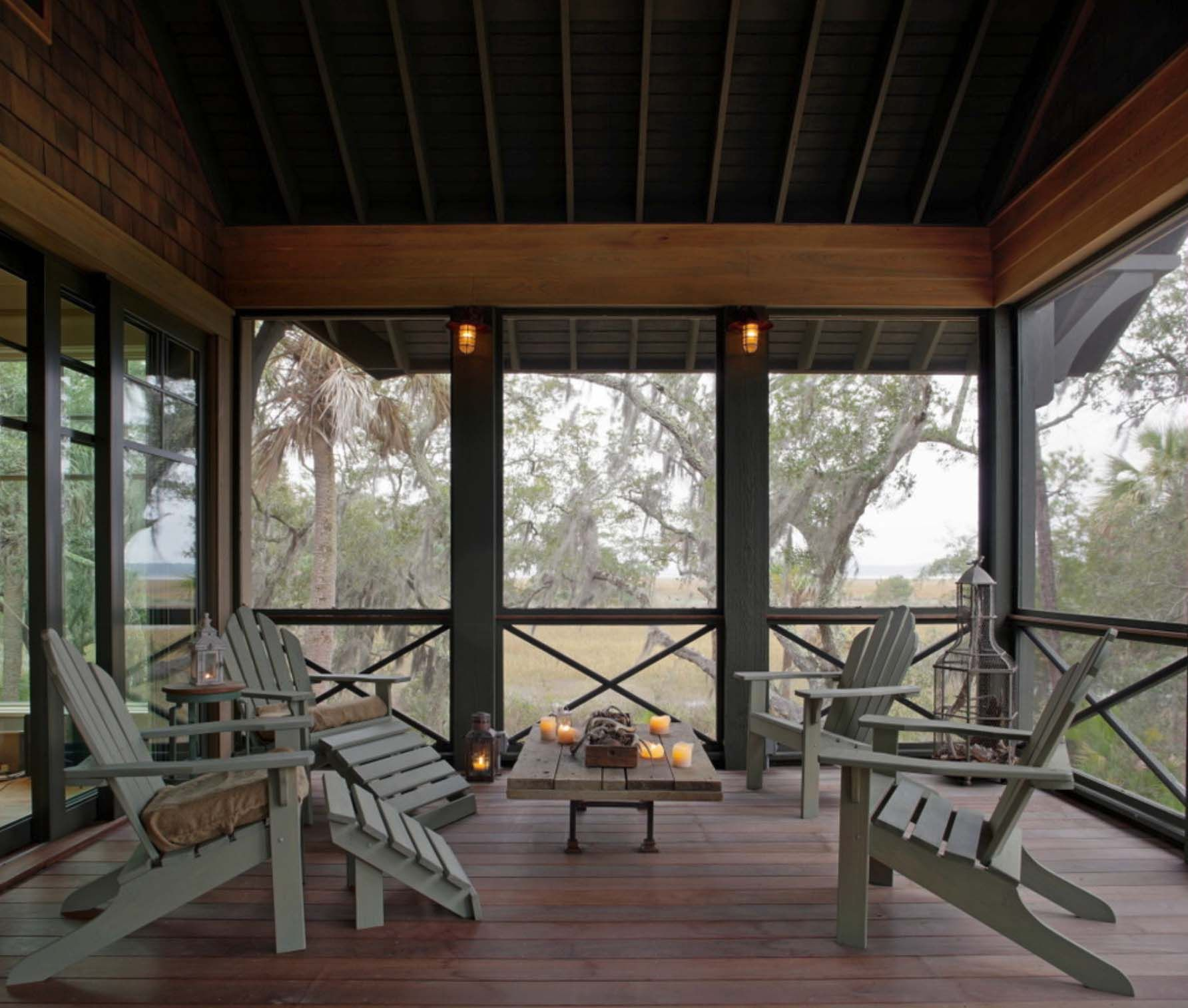 45 Amazingly Cozy And Relaxing Screened Porch Design Ideas Screened In Porch Furniture House With Porch Screened Porch Designs