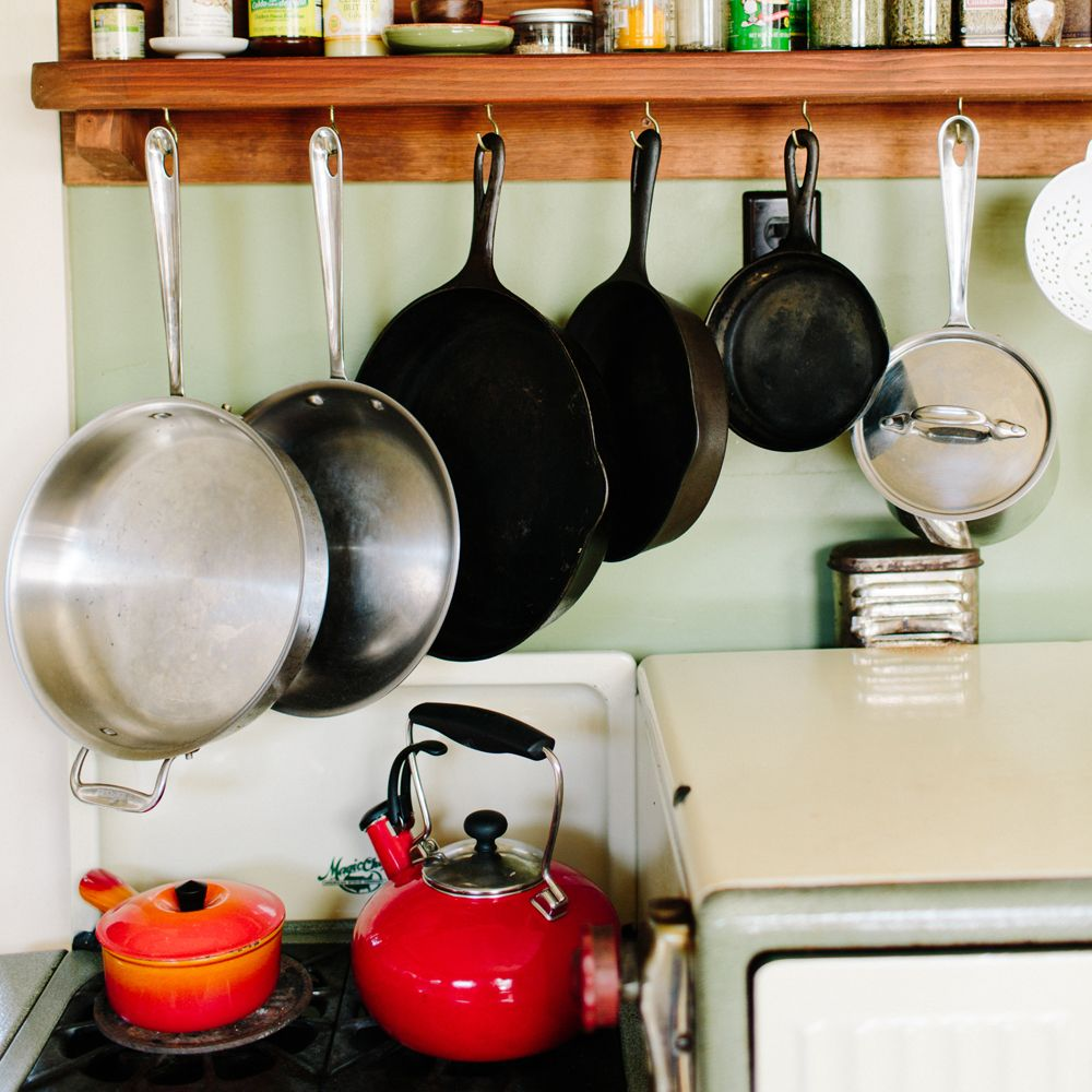 Pots And Pans In The Kitchen Everydaymadewell