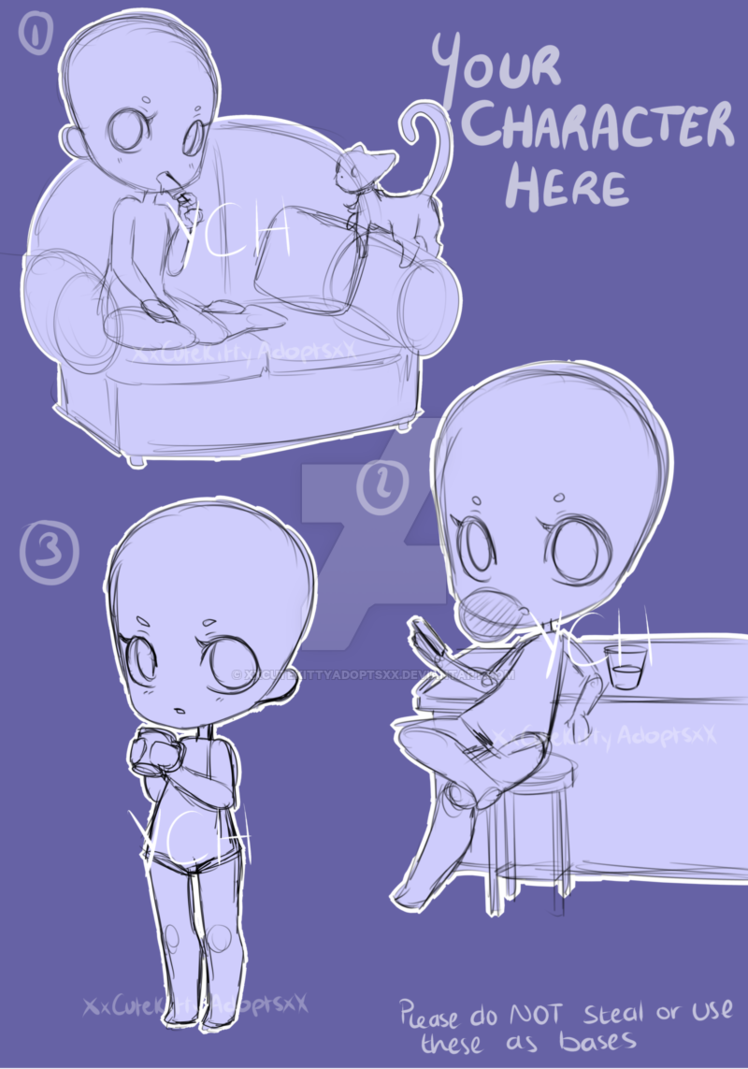 Lelelelelelelele Anime Poses Reference Chibi Drawings Drawing Base