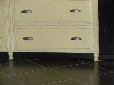 Kitchen Island Kick Plate black kick plate makes it disappear! | kitchen island & cabinets