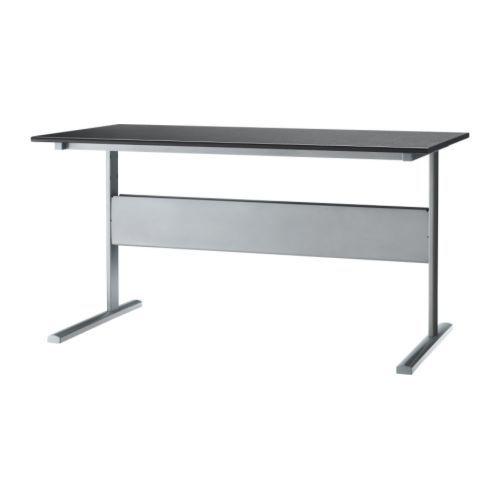 FREDRIK Desk blackbrownsilver color IKEA two of these side